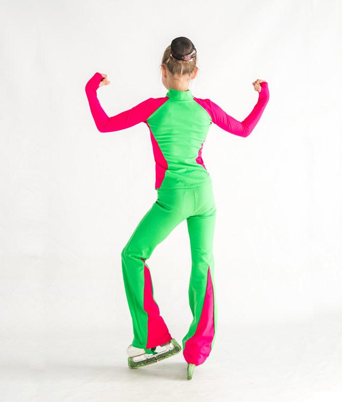 """Patinaje artístico Ropa de Entrenamiento, patinaje artístico traje de """"Electra"""", pic 2"""