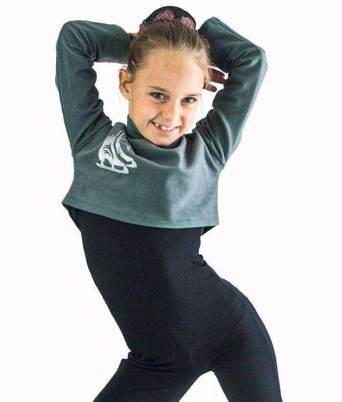 "Figure Skating Training Clothes, Figure skating shortcut bolero ""Star dust"", pic 3"