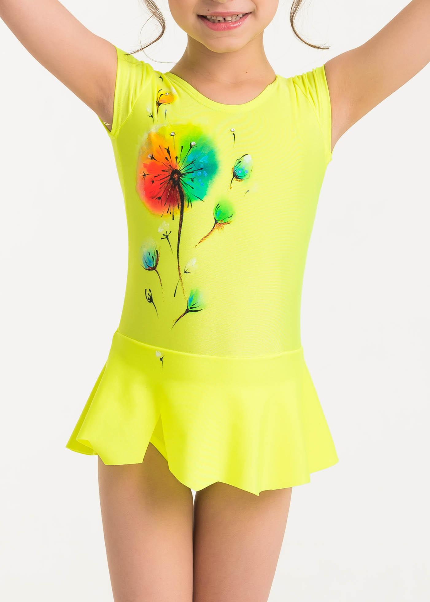 Competition Leotards, Seven-color flower, pic 1
